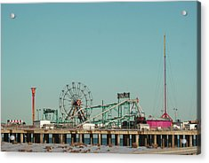 Atlantic City Steel Pier Amusements Acrylic Print