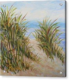 Atlantic Dunes Acrylic Print