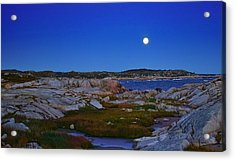 Atlantic Moon  Acrylic Print