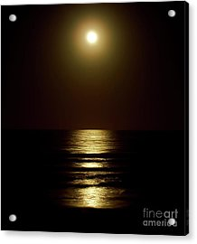 Atlantic Moon Shine Acrylic Print