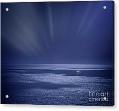 Atlantic Night Acrylic Print by Edmund Nagele