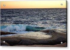 Atlantic Ocean, Nova Scotia Acrylic Print
