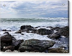 Acrylic Print featuring the photograph Atlantic Scenery by Andrew Pacheco