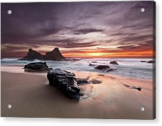 Acrylic Print featuring the photograph Atlantic Seashore by Jorge Maia