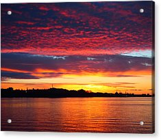 Atlantic Sunrise Acrylic Print
