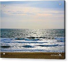 Atlantic Sunrise - Sandbridge Virginia Acrylic Print