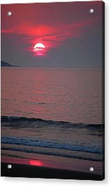 Acrylic Print featuring the photograph Atlantic Sunrise by Sumoflam Photography