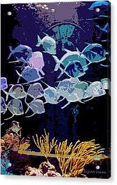 Atlantis Aquarium Acrylic Print by DigiArt Diaries by Vicky B Fuller