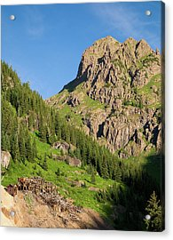 Acrylic Print featuring the photograph Atlas Mine by Steve Stuller