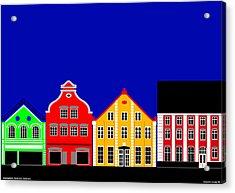 Atmosphere Haderslev Denmark Acrylic Print by Asbjorn Lonvig