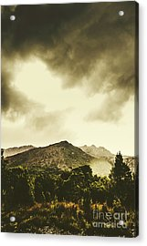 Atmospheric Hills And Valleys Acrylic Print by Jorgo Photography - Wall Art Gallery