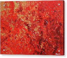 Atmospheric Red 201749 Acrylic Print by Alyse Radenovic
