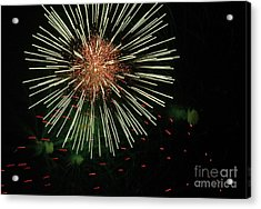 Atom Burst Acrylic Print by Norman  Andrus