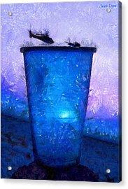 Atomic Ant - Pa Acrylic Print by Leonardo Digenio
