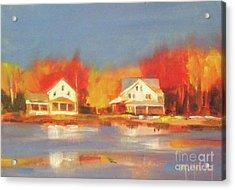 Atsion Lake Acrylic Print