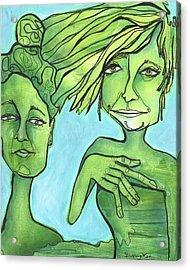 Attachment Theory Acrylic Print