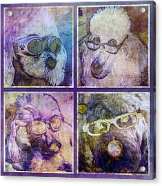 Attitoodles Acrylic Print