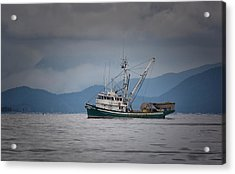 Acrylic Print featuring the photograph Attu Off Madrona by Randy Hall