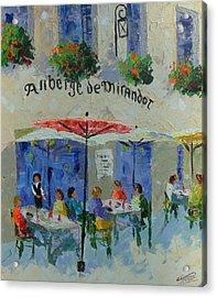 Auberge De Mirandol France Acrylic Print