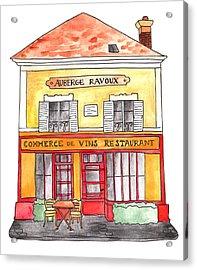 Auberge Ravoux Acrylic Print