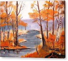 Auburn Forest Acrylic Print