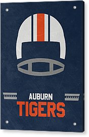 Auburn Tigers Vintage Football Art Acrylic Print