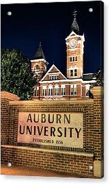 Auburn University Acrylic Print