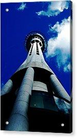 Auckland Sky Tower Acrylic Print by Ashlee Terras