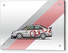 Audi A4 Quattro B5 Btcc Super Touring Acrylic Print