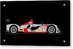 Audi R15 Acrylic Print by Asbjorn Lonvig