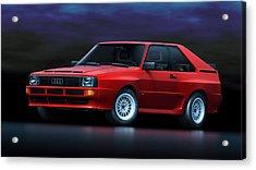 Audi Sport Quattro Acrylic Print