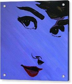 Audrey Hepburn-eyes For You Acrylic Print