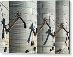 Augers Waiting Acrylic Print by Todd Klassy