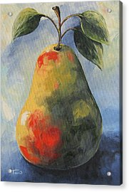 August Pear Acrylic Print by Torrie Smiley