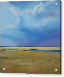 August Sky Acrylic Print by Jeanne Rosier Smith