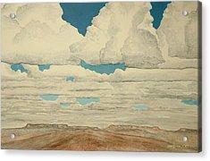 August Sky Acrylic Print