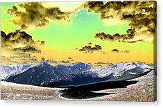 August Sky Acrylic Print by Peter  McIntosh