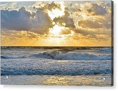 August Sunrise Acrylic Print