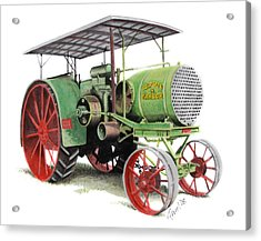 Aultman And Taylor Tractor Acrylic Print