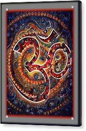 Aum - Mantra Of Universal Energy  Acrylic Print