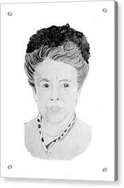 Aunt Bea Acrylic Print