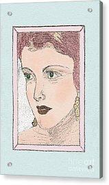 Aunt Edie Acrylic Print
