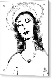 Auntie Mame Acrylic Print by Elaine Lanoue