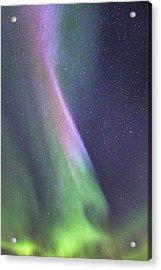 Acrylic Print featuring the photograph Aurora Abstract by Hitendra SINKAR