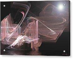 Aurora Acrylic Print by Emma Alvarez