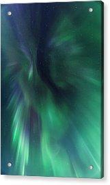 Aurora Kaleidoscope Acrylic Print