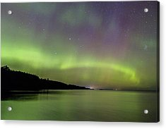 Aurora Over Superior 7 Acrylic Print