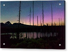 Acrylic Print featuring the photograph Aurora Reflections by Cat Connor