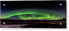 Acrylic Print featuring the photograph Aurora Spiral by Bryan Carter