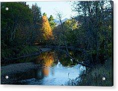 Ausable River Autumn Acrylic Print